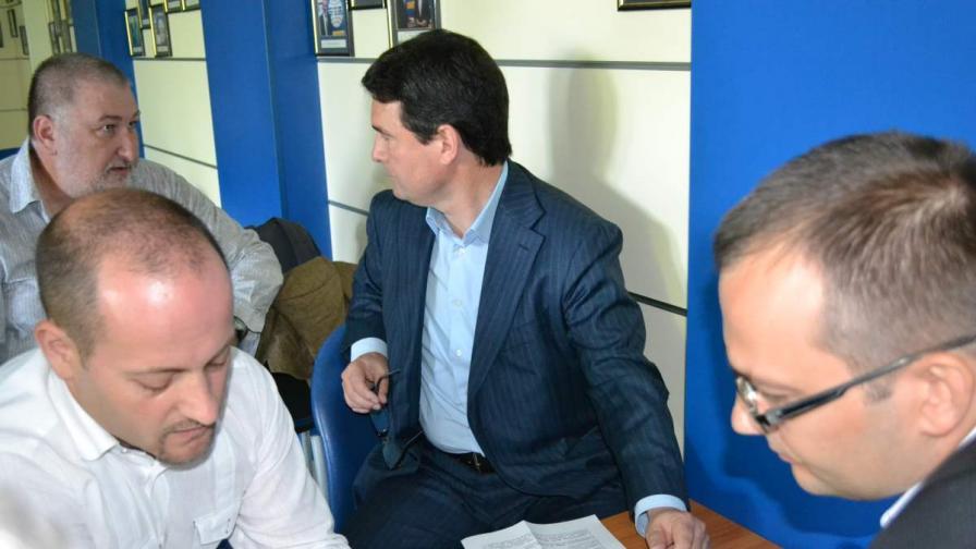 Радан Кънев, Найден Зеленогорски и Мартин Димитров от Реформаторския блок