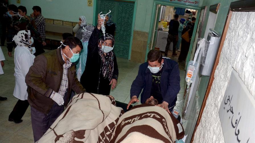 АФП за химическия арсенал на сирийския режим