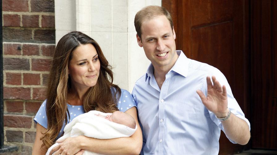 Принц Джордж ще бъде кръстен на 23 октомври