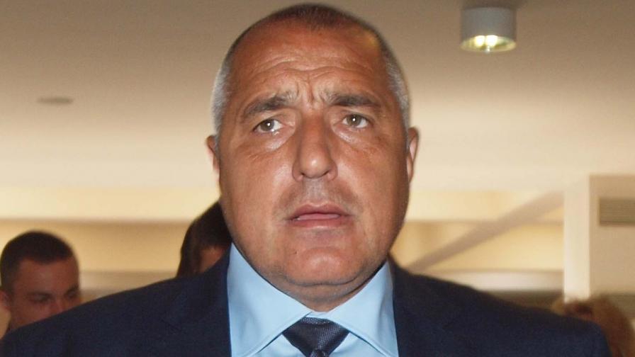 Лидерът на ГЕРБ Бойко Борисов
