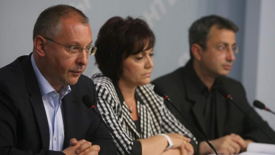 Станишев: ГЕРБ станаха левичари, като паднаха от власт
