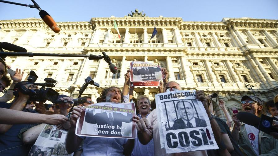 Първа окончателна присъда за Силвио Берлускони