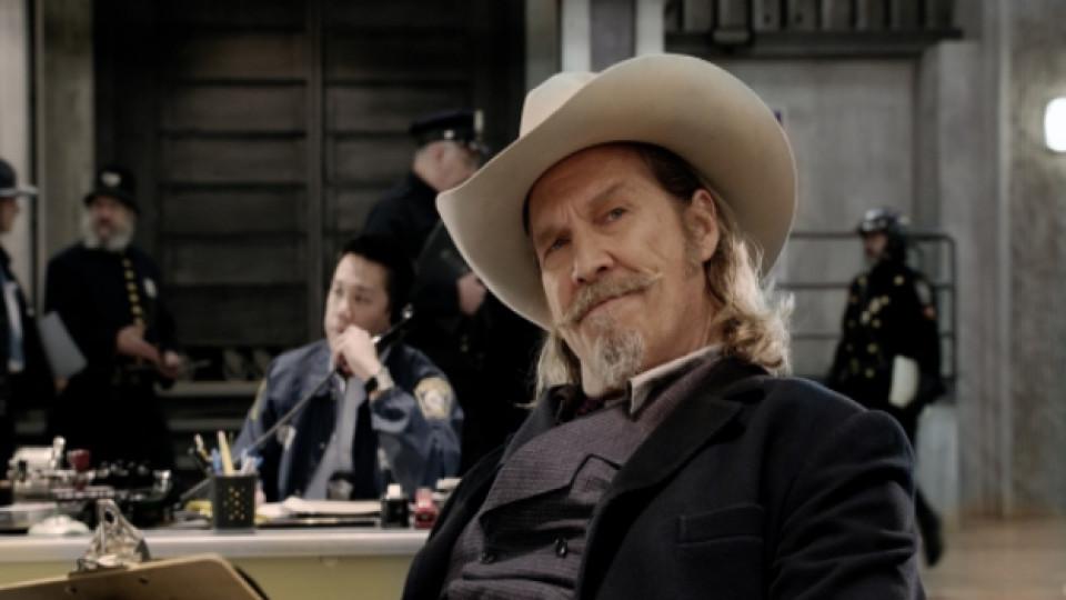 """Джеф Бриджис като шериф Рой Пълсифър в последния си филм РПУ """"Оня свят"""""""