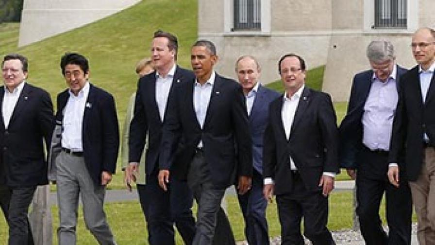 Обама: Путин е като отегчено дете