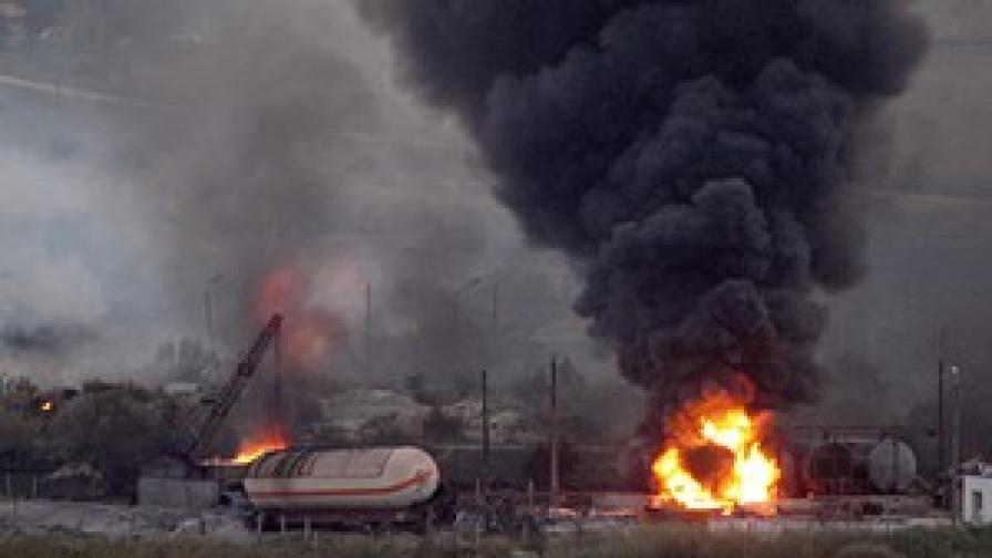 Няма опасност за населението след инцидента на гара Езерово
