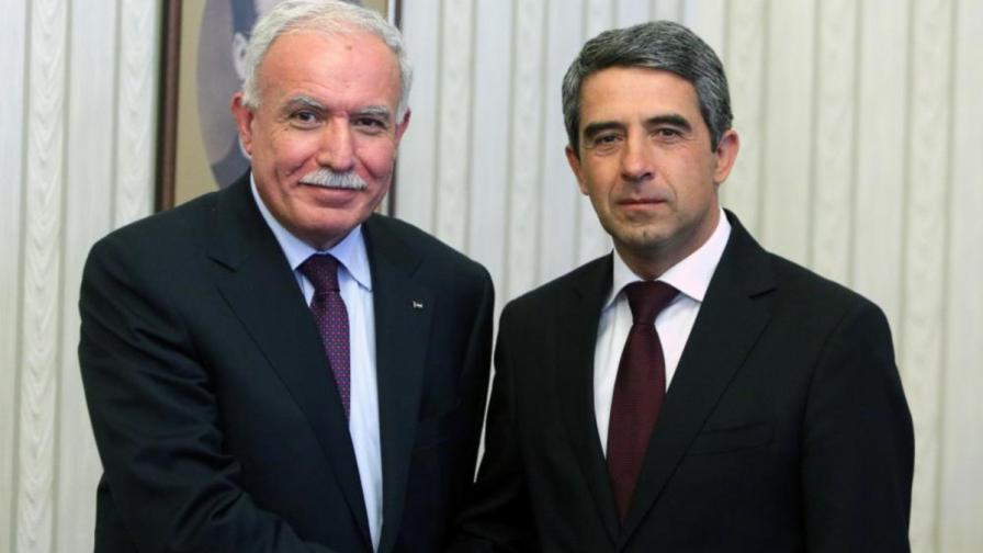 Плевнелиев: Подкрепяме всяко усилие за успех в палестинко-израелските преговори