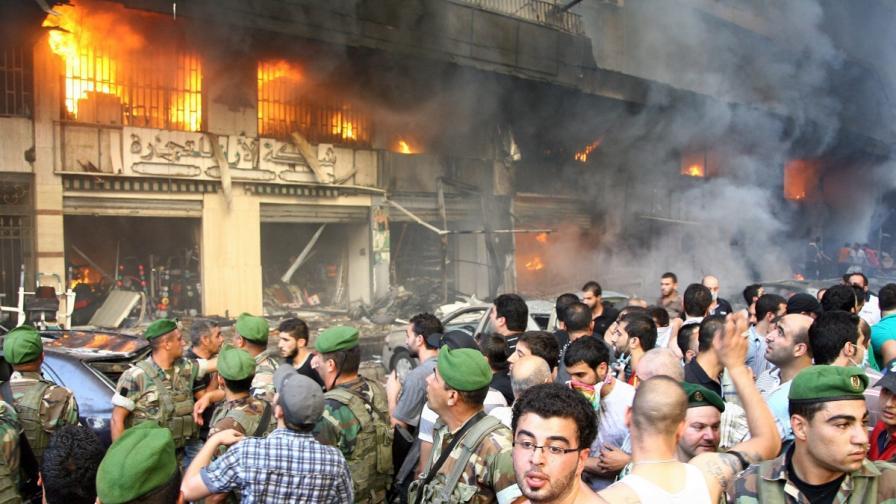 Десетки убити и над 120 ранени при атентат в Бейрут