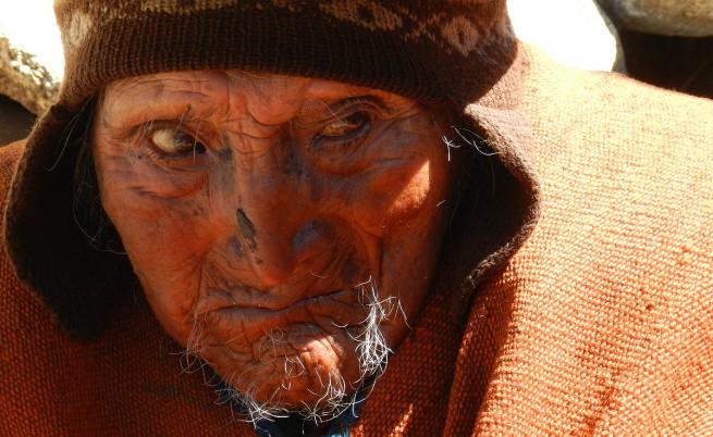 Дядо на 123 години живее в Андите