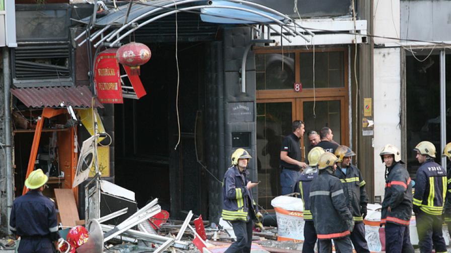 Има и тежко пострадали при взрива в Китайския ресторант