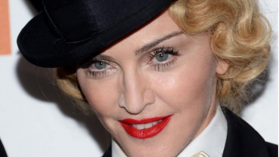 Мадона като Мария Антоанета