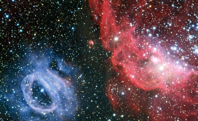 Половината от светлината във Вселената се губела някъде