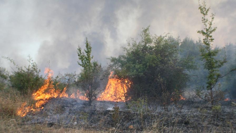 Опасност от пожари навсякъде