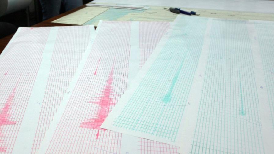 Земетресение с магнитуд 4 край границата с Румъния