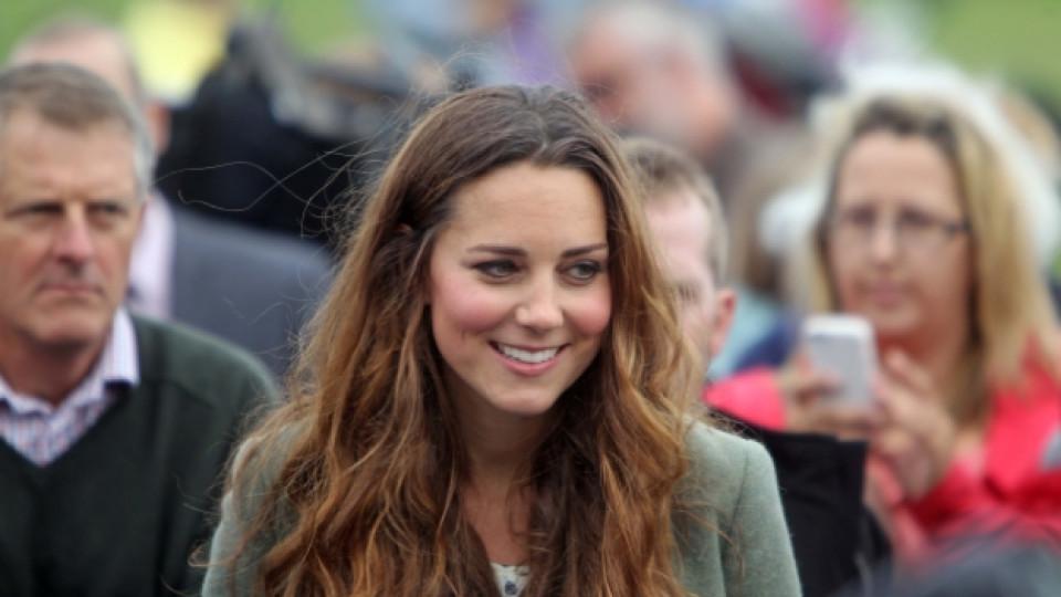 Кейт Мидълтън бе специален гост на маратона на остров Ангълси, намиращ се в Северен Уелс