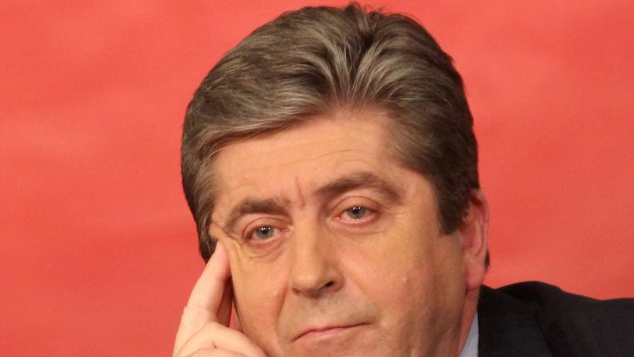 Първанов е против българска намеса в Сирия