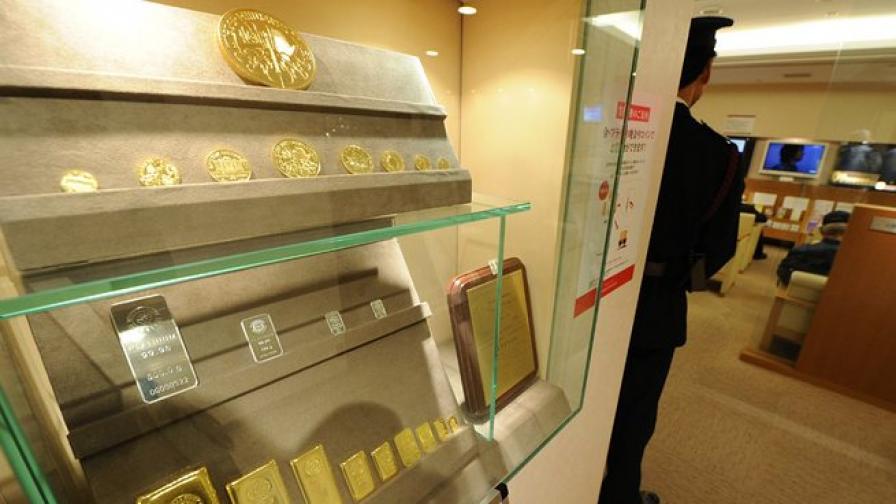 Сирийската криза може да вдигне цената на златото