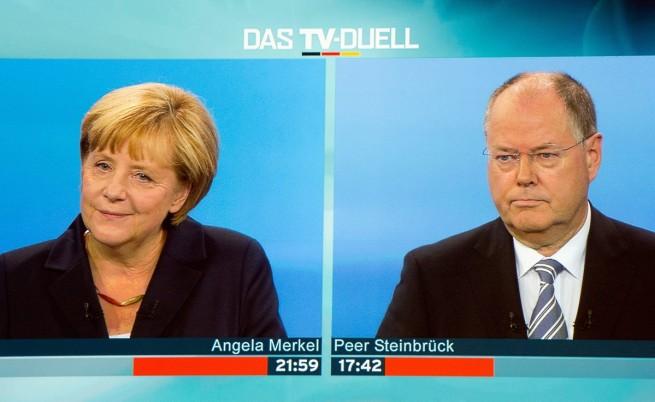 Меркел и Щайнбрюк
