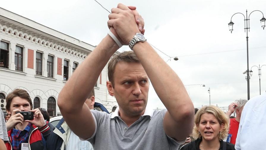Алексей Навални ще бъде втори на изборите за кмет на Москва