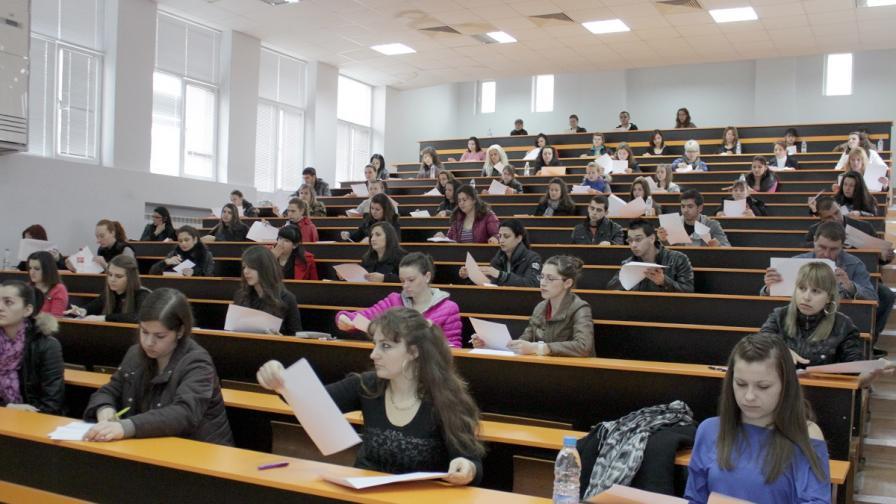 Тиха паника в университетите, нямало достатъчно кандидати