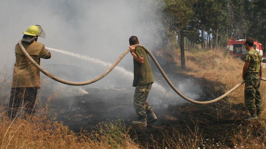 Пожари избухнаха край Варна и Ямбол