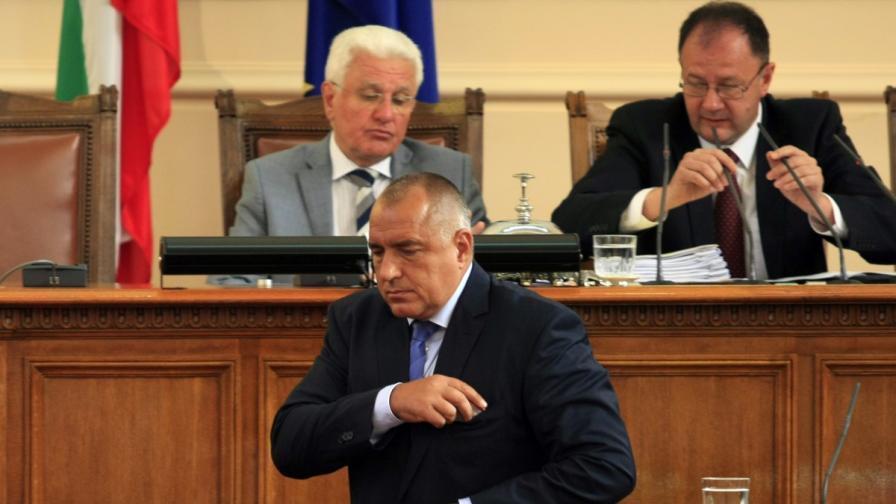Борисов: Мислете за оставка, и то днес