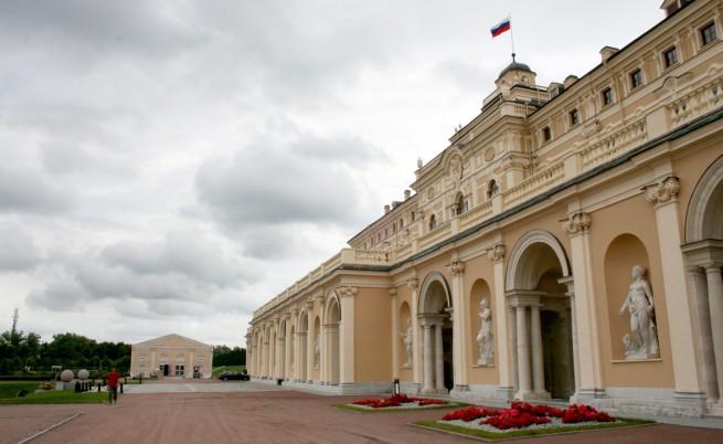 Константиновския дворец в Стрелна