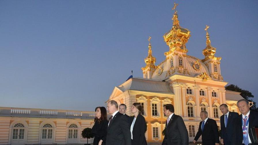 Лидерите на Г-20 за план за насърчаване на икономическия растеж