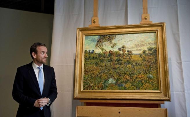 Откриха отдавна загубена картина на Ван Гог