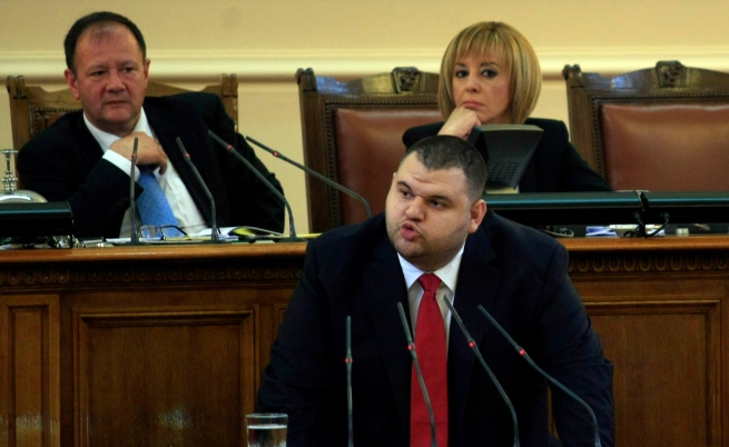 Делян Пеевски при избирането му за председател на ДАНС на 14 юни 2013 г.
