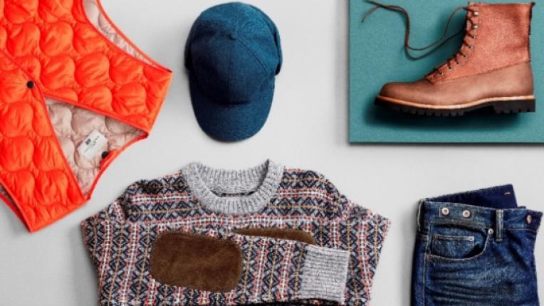 Ейч енд Ем мъжка колекция тенденции есен памук вълна облекла