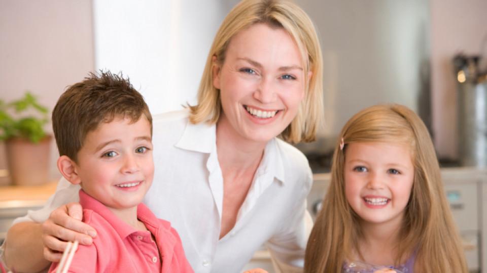 Децата наследяват интелигентността от своите майки