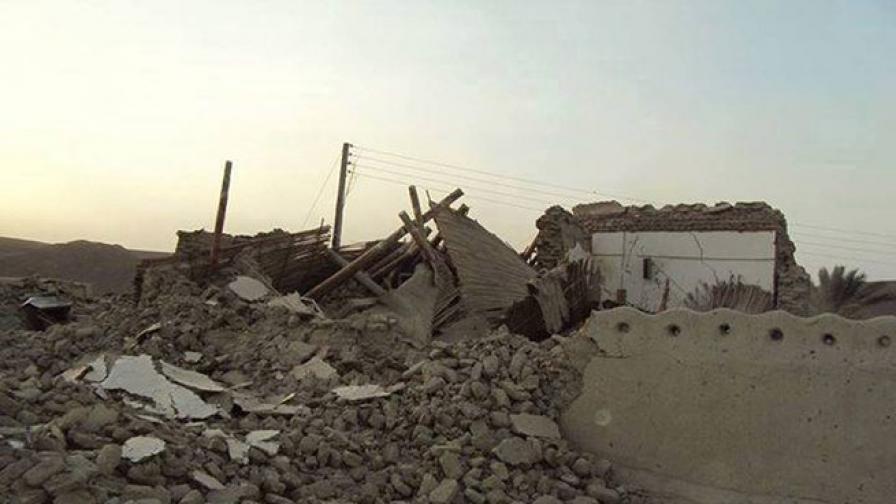 Мощното земетресение в Пакистан е образувало малък остров