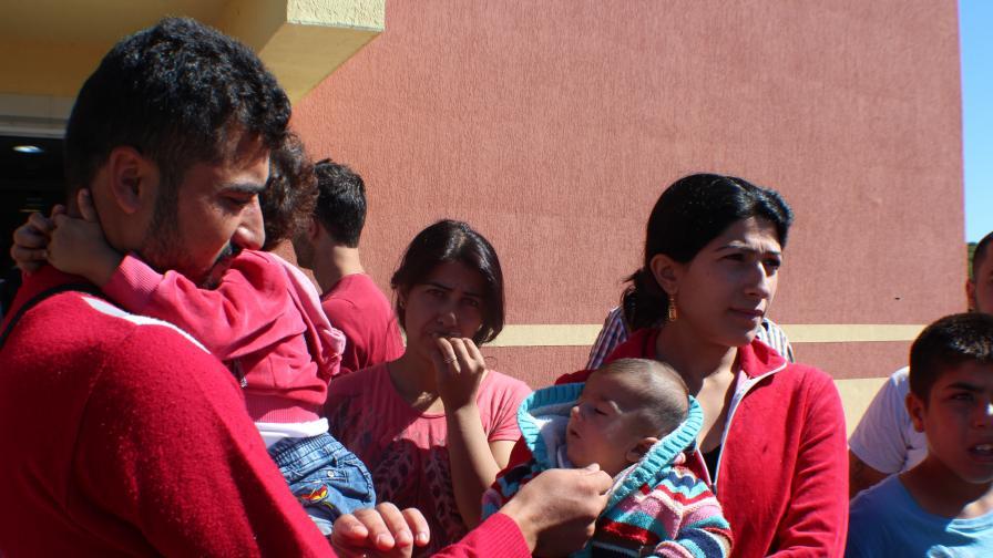 Бежанци от центъра в Пъстрогор