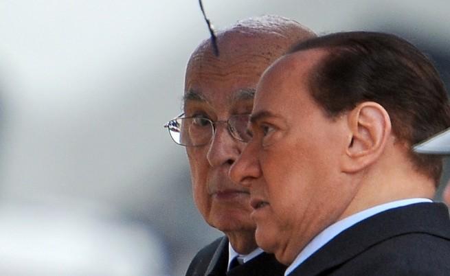 Берлускони отново предизвика скандал, този път с президента
