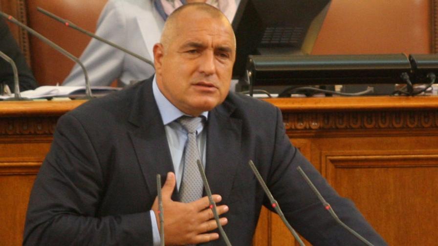 Борисов: Нито аз, нито Цветанов ще водим листата за евровота