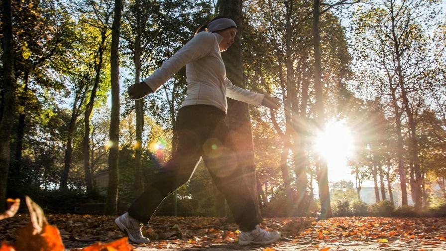 Разходките намаляват опасността от рак на гърдата