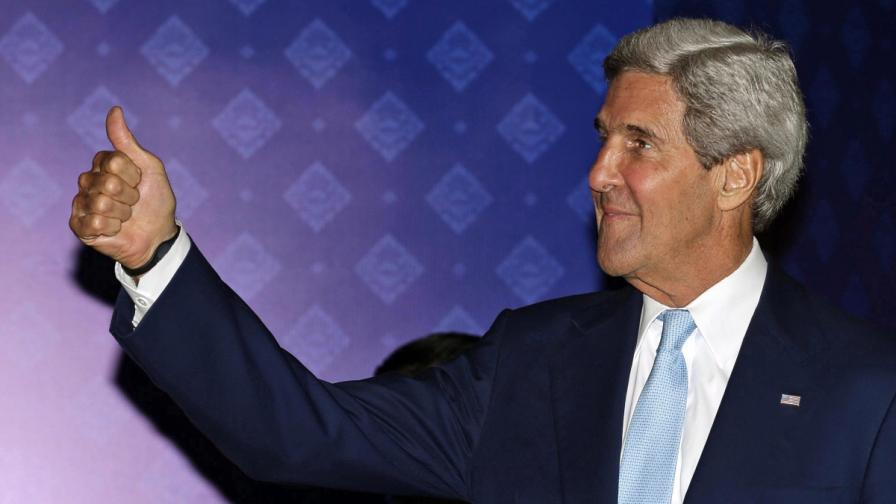Джон Кери похвали Башар Асад