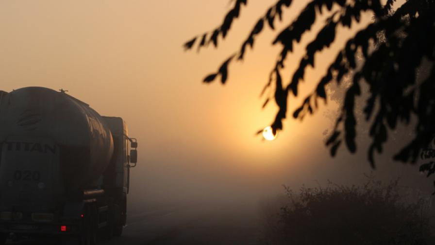 Жълт код за гъсти мъгли е обявен в 24 области в страната