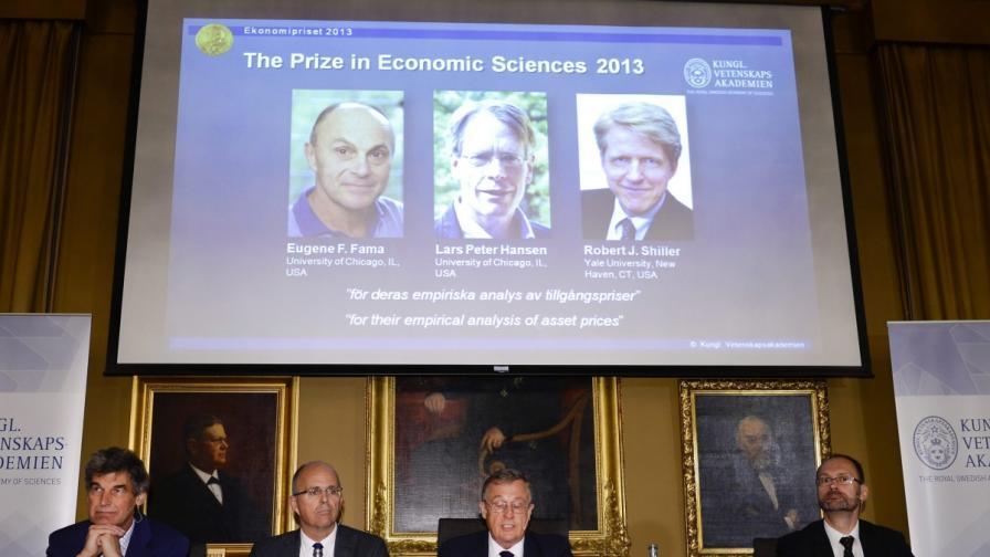 Трима американци разделиха Нобела за икономика