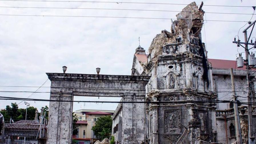 Земетресение с магнитуд 7,2 на Филипините