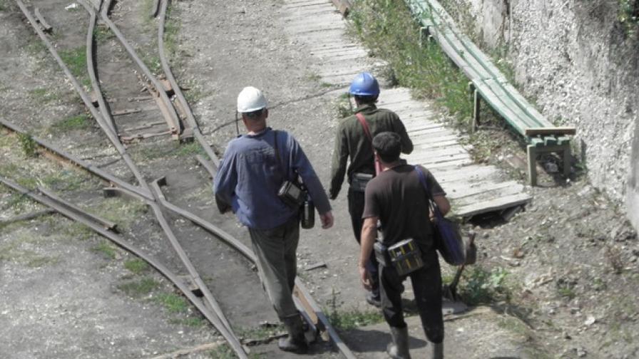 Миньорите в Бургас прекратиха стачката си
