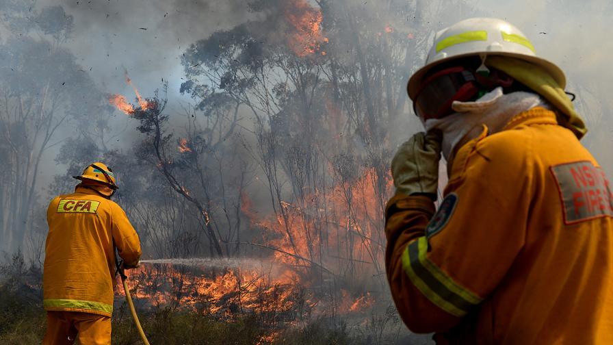 Пожарите край Сидни може да се превърнат в суперпожар