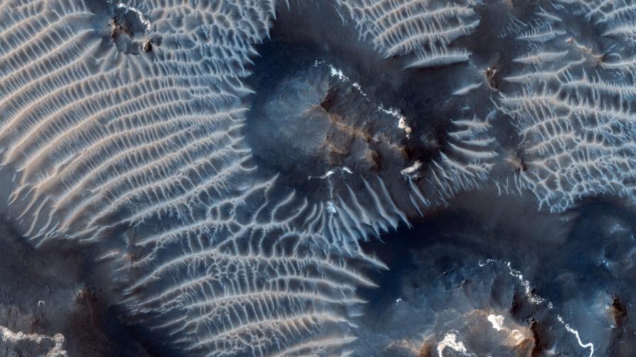 Откриха следи от изригване на супервулкан на Марс