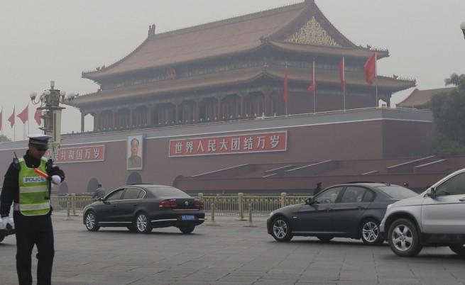 Китай подозира, че станалото на