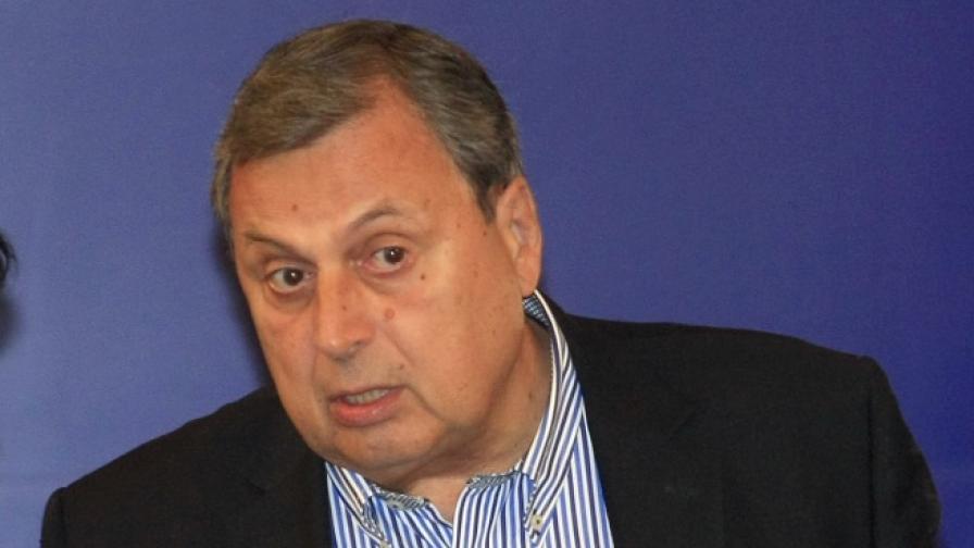 Председателят на БСК Божидар Данев
