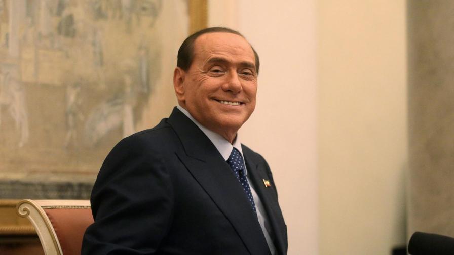 Силвио Берлускони в болница