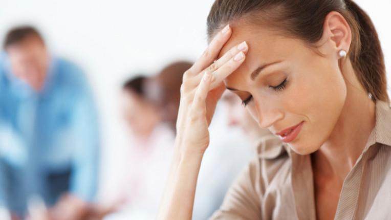 умора стрес дрямка главоболие