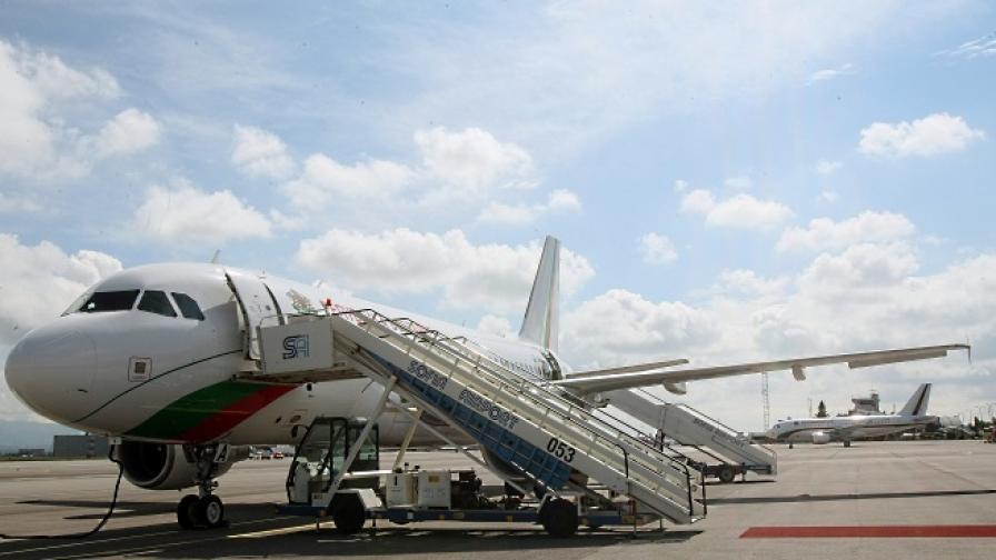 Правителственият самолет