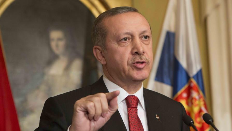 Ердоган: Няма страна, която се нарича Кипър