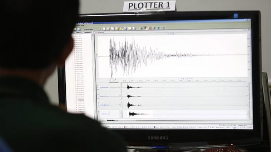 Земетресение с магнитуд 2,2 по Рихтер в Стара планина